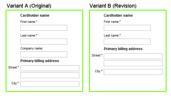 Form comparison (ux writing cost)