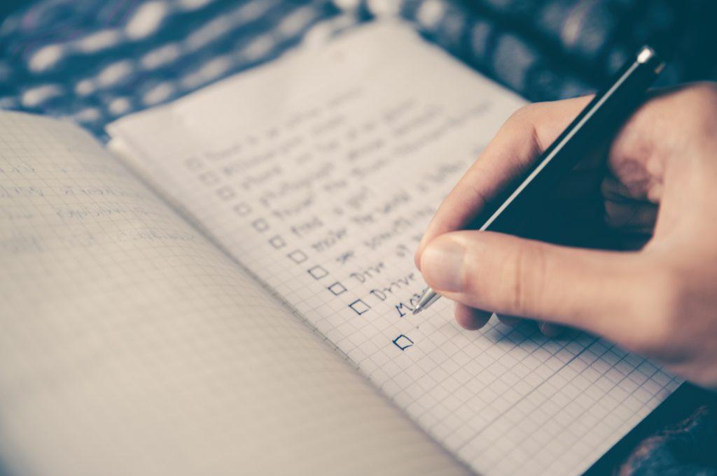 ux writing checklist