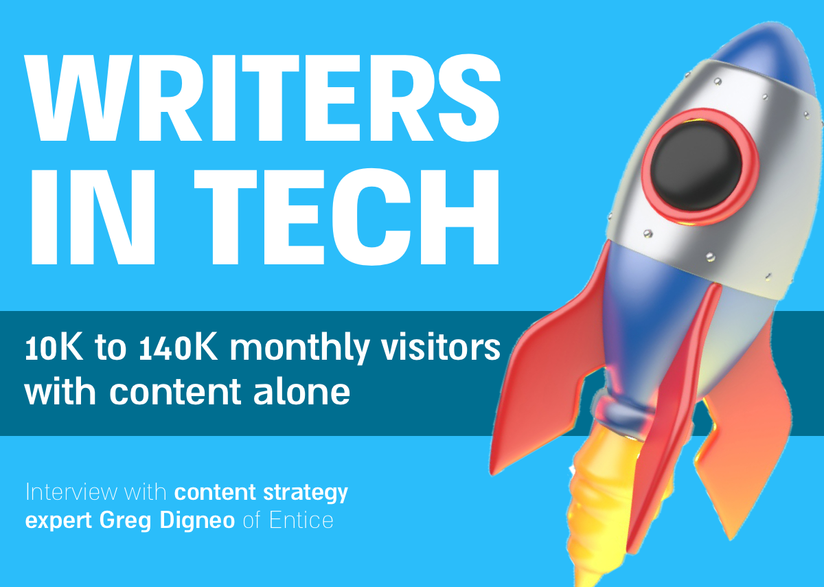 content strategy podcast episode writers in tech