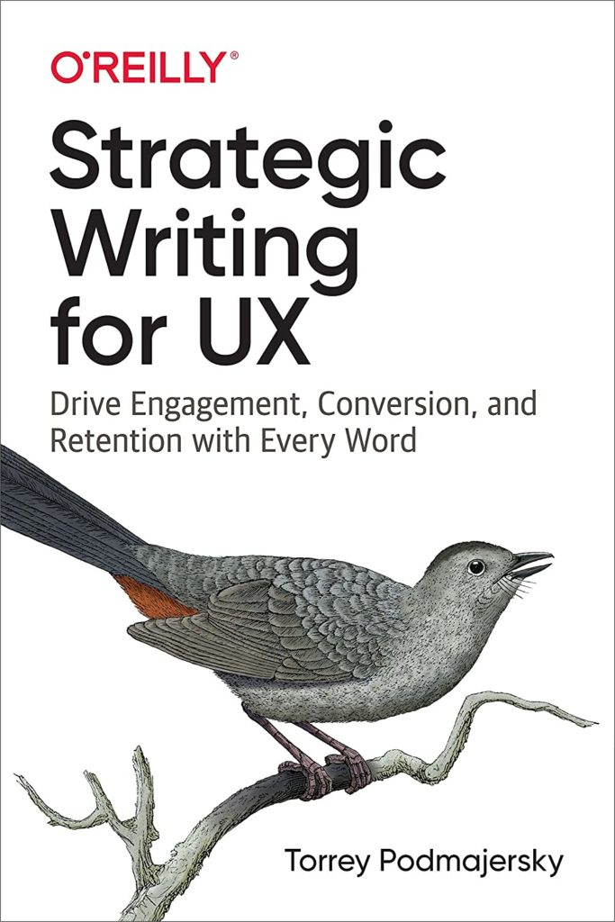 Strategic Writing for UX book
