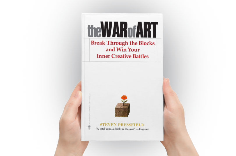 the war of art book