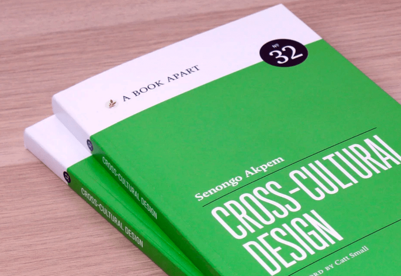 The book Cross-cultural design by Senongo Akpem