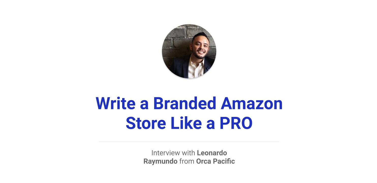 UX writing for a branded amazon store