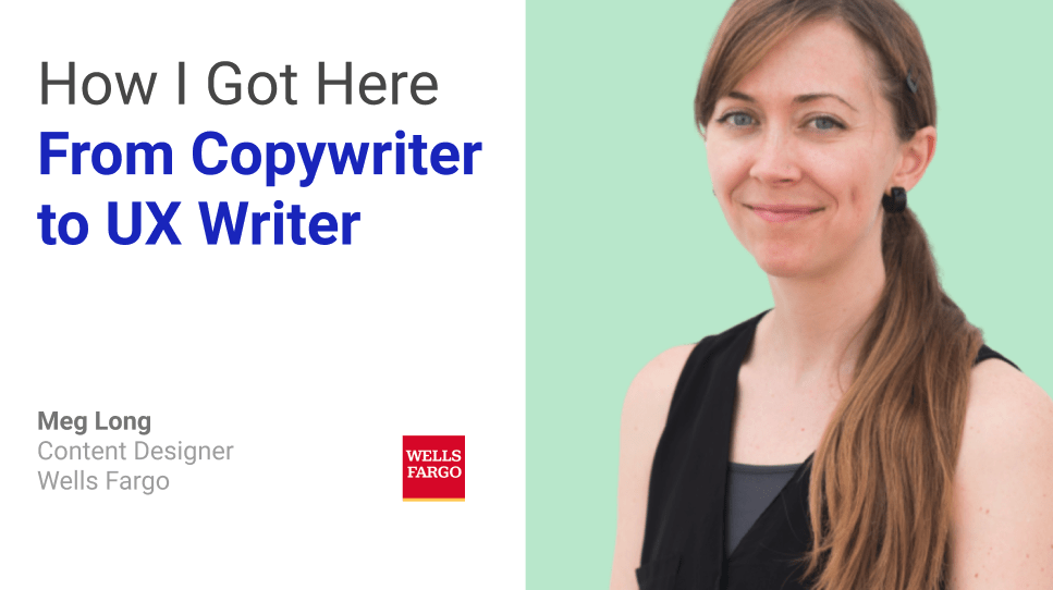 interview with meg long: from copywriter to ux writer
