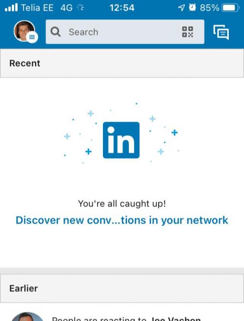 LinkedIn bad microcopy example